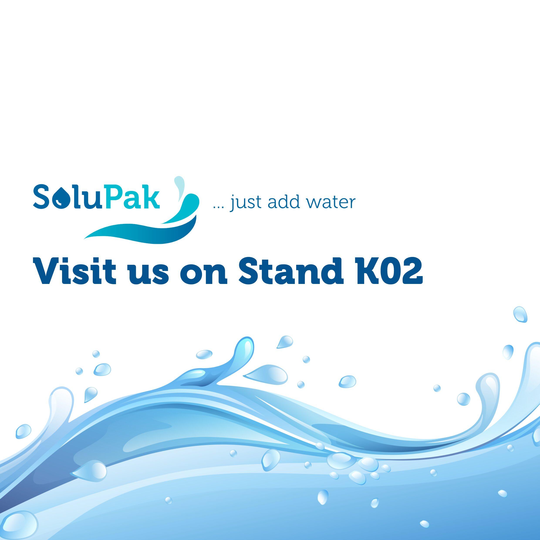 Solupak _ Visit us on Stand K02